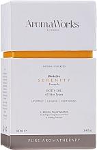 Parfumuri și produse cosmetice Unt de corp - AromaWorks Serenity Body Oil