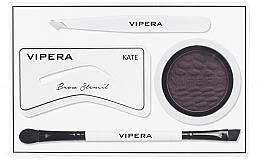 Parfumuri și produse cosmetice Set pentru stilizarea sprâncenelor - Vipera Celebrity Eyebrow Definer Kit