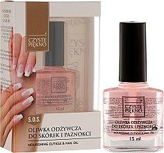 Духи, Парфюмерия, косметика Масло для ногтей и кутикулы - Czyste Piękno Nourising Cuticle & Nail Oil