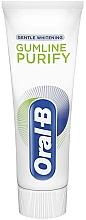 Parfumuri și produse cosmetice Pastă de dinți - Oral-B Professional Gumline Pro-Purify Gentle Whitening Toothpaste