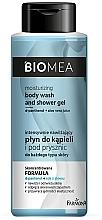 Parfumuri și produse cosmetice Loțiune hidratantă pentru baie și duș - Farmona Biomea Moisturizing And Shower Gel