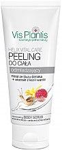 """Parfumuri și produse cosmetice Scrub pentru corp cu efect de întinerire """"Litchi și vanilie"""" - Vis Plantis Helix Vital Care Rejuvenating Creamy Body Scrub"""