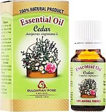"""Parfumuri și produse cosmetice Ulei esențial """"Cedru"""" - Bulgarian Rose Cedar Essential Oil"""