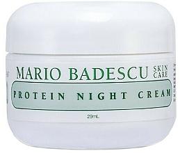 Parfumuri și produse cosmetice Cremă de noapte cu proteine - Mario Badescu Protein Night Cream