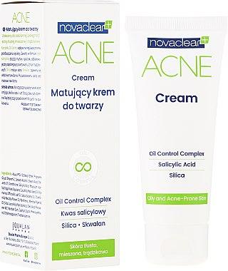 Cremă matifiantă de față - Novaclear Acne Cream