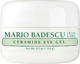 Parfumuri și produse cosmetice Gel hrănitor pentru ochi - Mario Badescu Ceramide Eye Gel