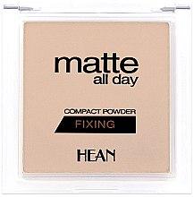 Parfumuri și produse cosmetice Pudră de față - Hean Matte All Day Compact Powder