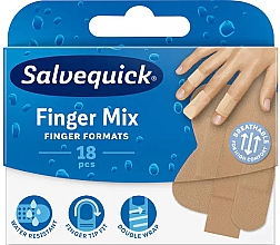 Parfumuri și produse cosmetice Plasture pentru degete  - Salvequick Finger Mix