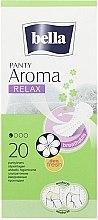 Духи, Парфюмерия, косметика Absorbante Panty Aroma Relax, 20 bucăți - Bella