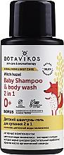 Parfumuri și produse cosmetice Șampon și gel de duș 2in1 pentru bebeluși - Botavikos Baby Shampoo And Body Wash 2 in 1