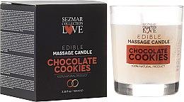 """Parfumuri și produse cosmetice Lumânare naturală pentru masaj """"Ciocolată"""" - Hristina Cosmetics Sezmar Collection"""