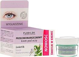 Parfumuri și produse cosmetice Cremă cu acid hialuronic pentru zona ochilor - Floslek