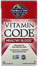 Parfumuri și produse cosmetice Supliment alimentar - Garden of Life Vitamin Code Healthy Blood