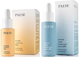 Parfumuri și produse cosmetice Set - Paese (serum/15ml + serum/30ml)
