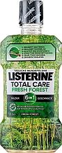 Parfumuri și produse cosmetice Agent de clătire pentru cavitatea bucală - Listerine Total Care Fresh Forest Elixir Bocal
