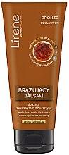 Parfumuri și produse cosmetice Autobronzant cu extract de chihlimbar pentru corp, culoare deschisă - Lirene Bronze Collection Bronzing Body Balm
