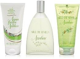 Parfumuri și produse cosmetice Instituto Espanol Aire de Sevilla Azahar - Set (edt/150ml + b/cr/150ml + sh/gel/150ml)