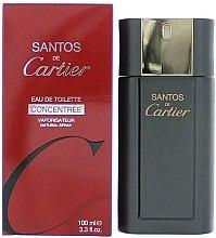 Parfumuri și produse cosmetice Cartier Santos Concentree For Men - Apă de toaletă