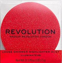 Parfumuri și produse cosmetice Highlighter pentru față - Makeup Revolution Shimmer Dust