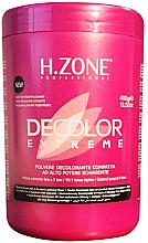 Parfumuri și produse cosmetice Pudră decolorantă pentru păr - H.Zone Decolor Extreme