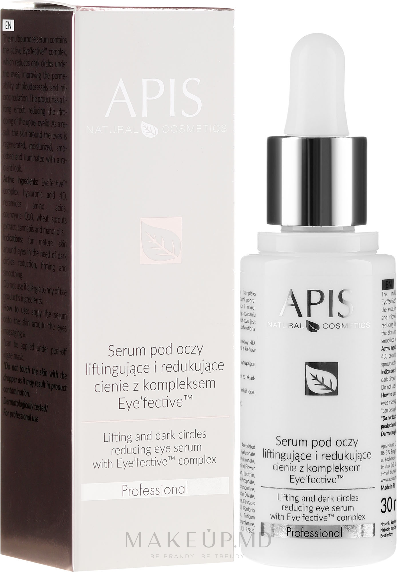 Ser pentru ochi - Apis Professional Serum — Imagine 30 ml