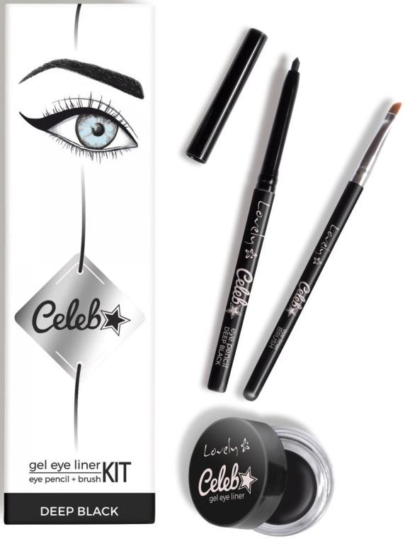Set de machiaj pentru ochi - Lovely Celeb Kit — Imagine N1