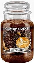 Parfumuri și produse cosmetice Lumânare aromată (borcan) - Country Candle Coffee Shop