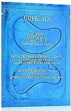 Parfumuri și produse cosmetice Mască pentru zona ochilor - Guerlain Super Aqua-Eye Anti-Puffness Smoothing Eye Patch