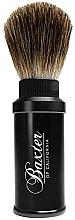 Parfumuri și produse cosmetice Pămătuf de ras - Baxter Professional Travel Brush Pure Badger