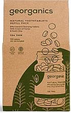 """Parfumuri și produse cosmetice Tablete pentru igiena orală """"Arbore de ceai"""" - Georganics Natural Toothtablets Tea Tree (rezervă)"""