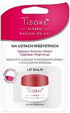 Духи, Парфюмерия, косметика Бальзам для губ, блистер - Farmapol Tisane Classic Lip Balm