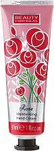 Parfumuri și produse cosmetice Cremă de mâini - Beauty Formulas Rose Moisturising Hand Cream
