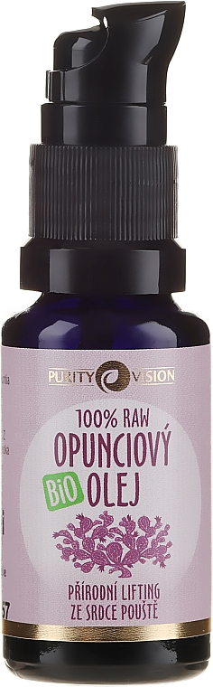 Ulei organic de Opuntia - Purity Vision 100% Raw Bio Oil — Imagine N2