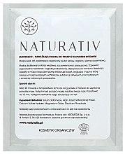Parfumuri și produse cosmetice Mască pe bază de orez pentru față - Naturativ Face Mask