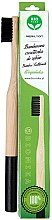 Духи, Парфюмерия, косметика Зубная щетка бамбуковая, мягкая, черная - Biomika Natural Bamboo Toothbrush