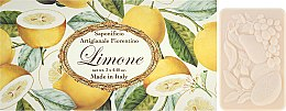 """Parfumuri și produse cosmetice Set săpunuri de toaletă """"Lămâie"""" - Saponificio Artigianale Fiorentino Lemon"""