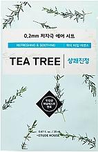 Parfumuri și produse cosmetice Mască cu extract de arbore de ceai pentru pielea problemă - Etude House Therapy Air Mask Tea Tree