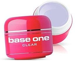 Parfumuri și produse cosmetice Гель для ногтей, бесцветный - Silcare Base One Clear