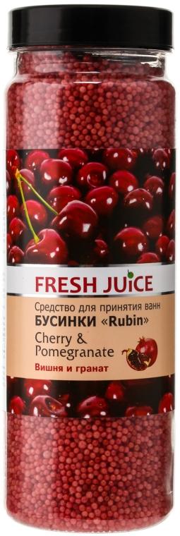 Bile pentru baie - Fresh Juice Bath Bijou Rubin Cherry and Pomergranate