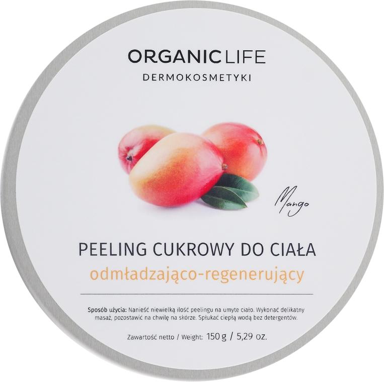 Peeling de zahăr pentru corp - Organic Life Dermocosmetics Scrub — Imagine N1