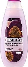 """Parfumuri și produse cosmetice Gel-cremă de duș """"Maracuya Juice and Magnolia"""" - Fresh Juice Creamy Shower Gel Passion Fruit & Magnolia"""