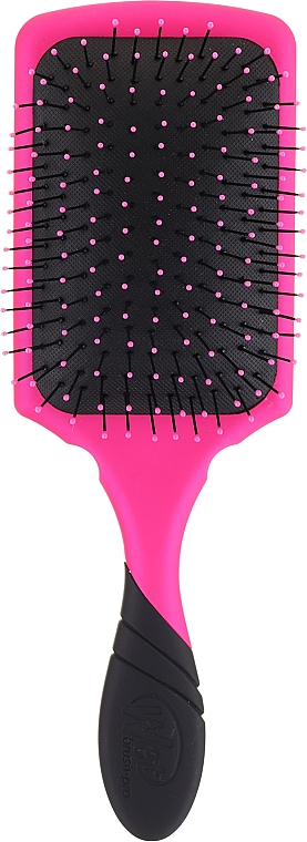 Perie de păr, roz - Wet Brush Pro Paddle Detangler Pink — Imagine N2