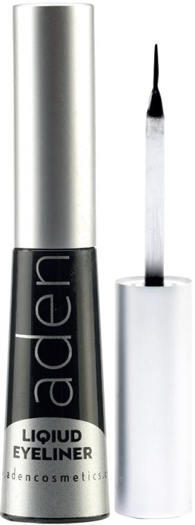 Tuș de ochi, rezistent la apă - Aden Cosmetics Liquid Eyeliner