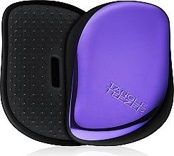 Parfumuri și produse cosmetice Perie de păr compactă - Tangle Teezer Compact Styler Purple Dazzle Brush