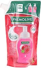 Духи, Парфюмерия, косметика Жидкое мыло - Palmolive Magic Softness Raspberry Foaming Handwash (дой-пак)