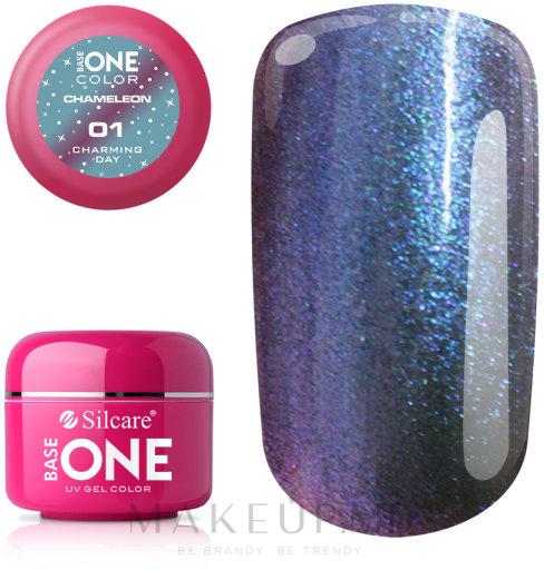 Гель для ногтей - Silcare Base One Chameleon UV Gel Color — фото 01 - Charming Day
