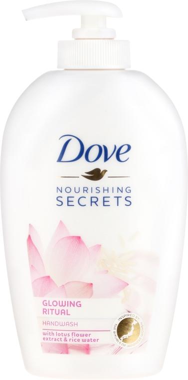 """Săpun lichid """"Floare de lotus"""" - Dove Nourishing Secrets Glowing Ritual Hand Wash"""