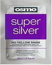Parfumuri și produse cosmetice Mască super argintie fără nuanțe de galben - Osmo Super Silver No Yellow Mask (mostră)