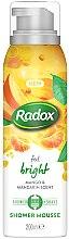 Parfumuri și produse cosmetice Spumă de corp - Radox Feel Bright Mango & Mandarin Scent Shower Mousse