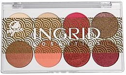 Parfumuri și produse cosmetice Paletă fard de ochi - Ingrid Cosmetics Bali Eyeshadows Palette